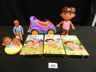 Dora the Explorer Car   Doll