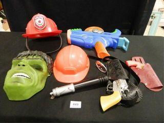 Helmets  Mask  Nerf Gun  Cap Gun