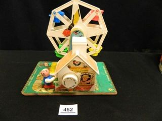 Vintage Fisher Price Ferris Wheel