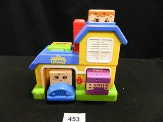 leap Frog learning Town w 4 Blocks