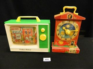 Fisher Price Musical Teaching Clock