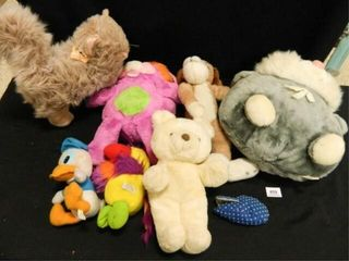Plush Animals   7  Used Condition