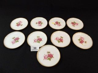 4  Rose Plates  Kaiser  West Germany  9