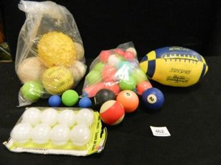 Ball Assortment  Baseball  Softballs