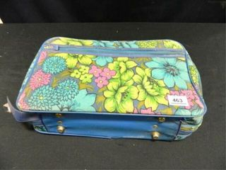 Suitcase w Floral Design