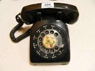 Kellogg Rotary Phone  Vintage