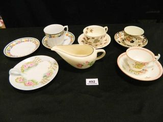 Cup   Saucer Assortment 10