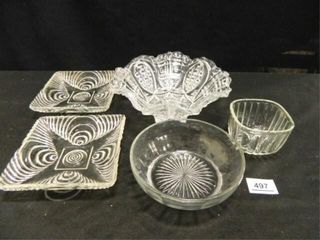 Glass Serving Dishes   5