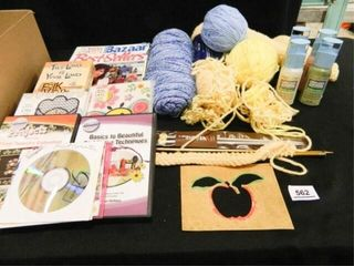 Craft Items  Yarn  Knitting Needles