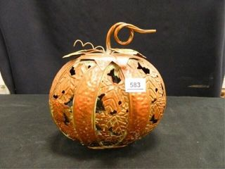 Metal Art Pumpkin