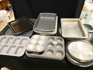 Baking Pan Assortment  Cake Pans