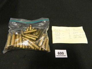 223 Ammunition   Brass