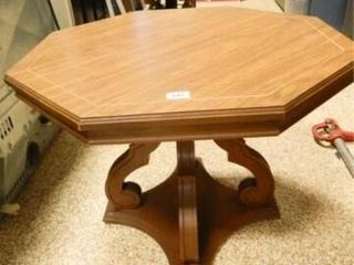 Wooden Octagonal Table