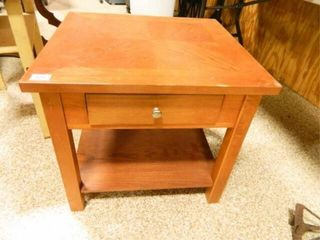 Wooden Table w Drawer