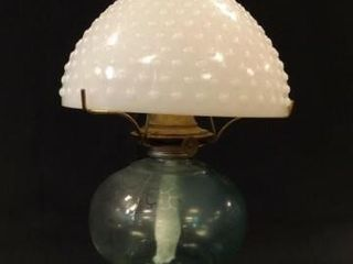 P A Mfg  Oil lamp  with Shade
