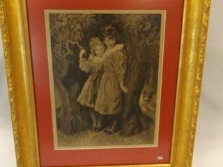 W E F  Britten Art  Framed  22  x 18