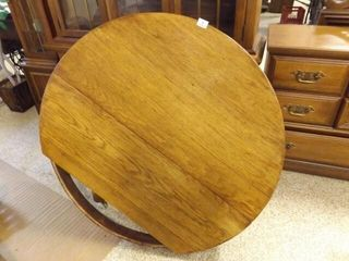 Wood Round Table Top  Base