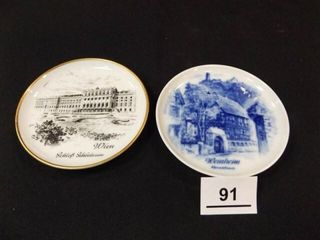 Kaiser West Germany 4  Plates  2