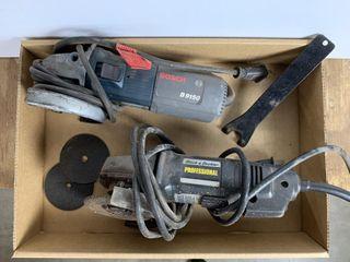 Black   Decker  Bosch Grinders