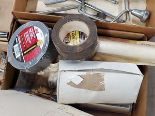 Assorted Tape   PVC Pipe