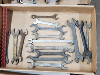 15   Open Ended Wrenches