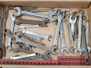 27   Open Ended  Combo  Ratcheting Wrenches