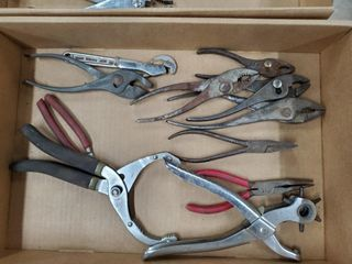 Assorted Pliers   Punch