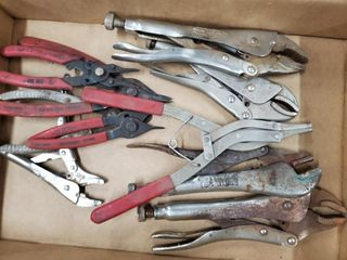Assorted Pliers