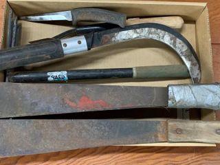 Machetes  Assorted Blades