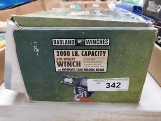 Badlands 2 000lb Winch