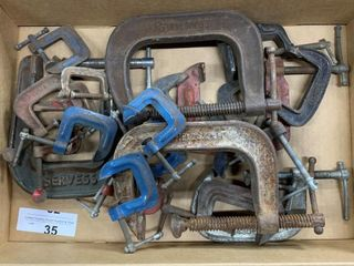 Assorted Size C Clamps