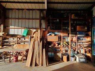 Misc Car Parts  AC Unit  lumber  Contents of