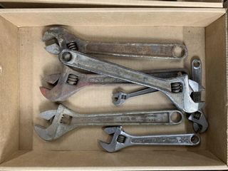 7   Adjustable Crescent Wrenches