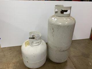 2   Propane Tanks