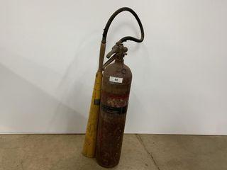 Vintage East Coast Fire Company Extinguisher