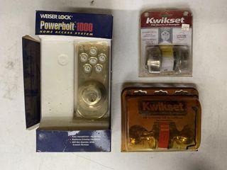 Weiser   Kwikset Door lock Sets