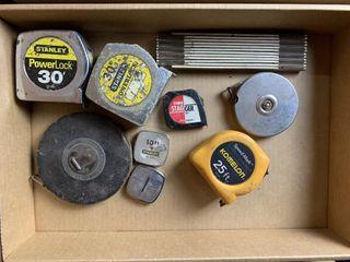 Assorted Stanley Tape Measurers