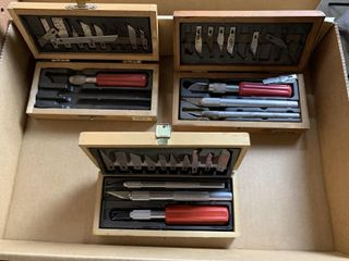 3   Boxes of X Acto Knives