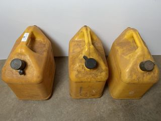 3   5 Gallon Diesel Cans