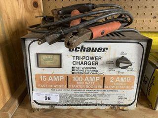 Schauer Tri Power Battery Charger