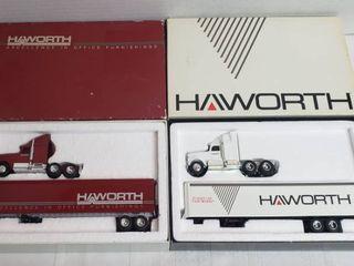 2 Ertl Semi Trucks   Haworth Office Furnishings