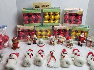 Vintage Christmas Ornaments and Decor
