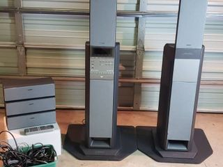 Sony SAVA D900 DVD Home Theater Active Speaker System   WORKS w remote and Cables