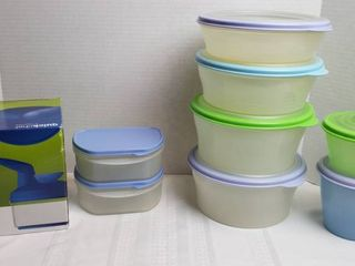 Tupperware Dishes w lids and Quickchef by Tupperware  NIB
