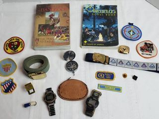 Scouting Items   Cub Scouts  Webelos  Boy Scout and other items