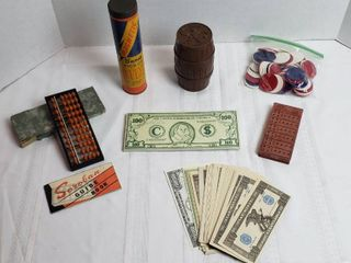 Games and Play Money