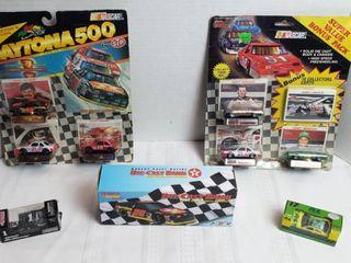 NASCAR Cars includes Texaco Die Cast Bank