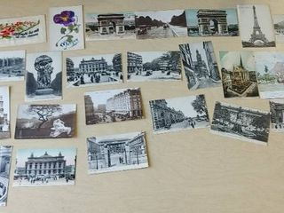 lot of 28 Assorted Postcards and a First Day Cover