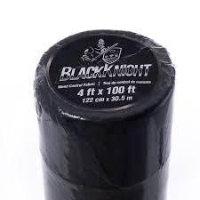 BlackKnight Weed Control Fabric with Peg lines