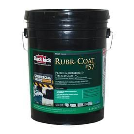 Black Jack Rubr Coat No  57 Premium Rubberized Coating Exterior Black 4 75 Gl